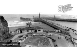 Whitby, Khyber Pass And Harbour c.1960