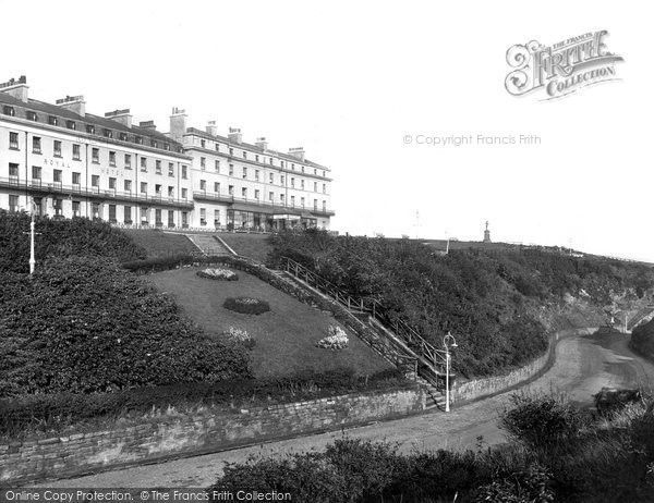 Photo of Whitby, Khyber Pass And Royal Hotel 1925