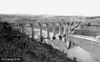 Whitby, Larpool Viaduct 1884