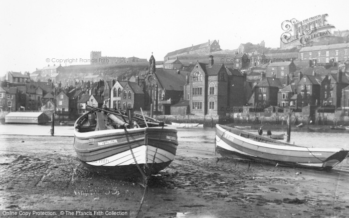 Photo of Whitby, Low Tide 1930