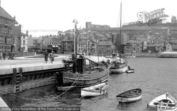 Photo of Whitby, New Quay Road 1936