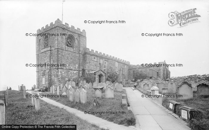 Photo of Whitby, Parish Church 1913