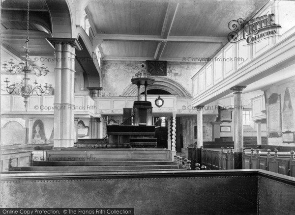 Photo of Whitby, Parish Church, The Nave 1930