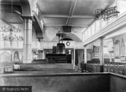 Whitby, Parish Church, The Nave 1930