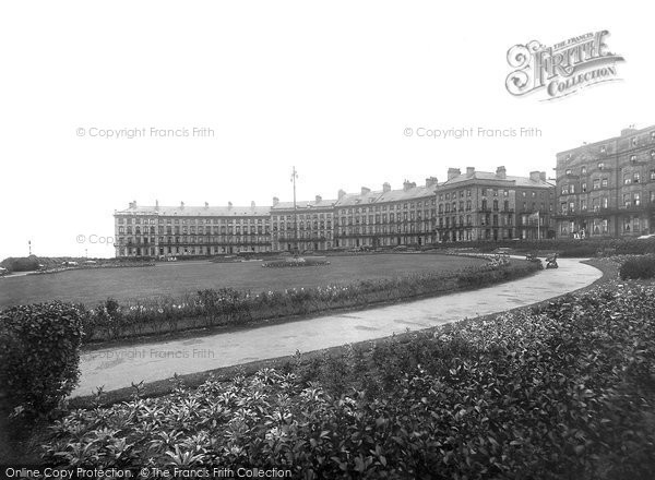 Photo of Whitby, Royal Crescent 1923