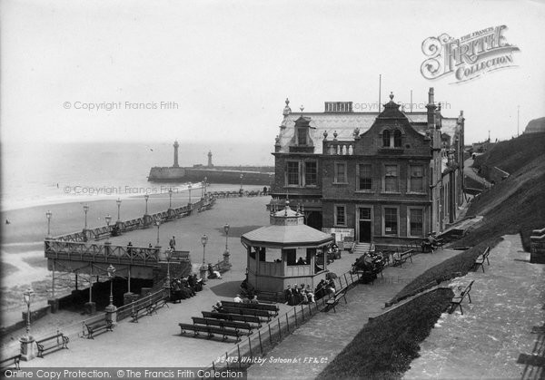 Photo of Whitby, Saloon 1897