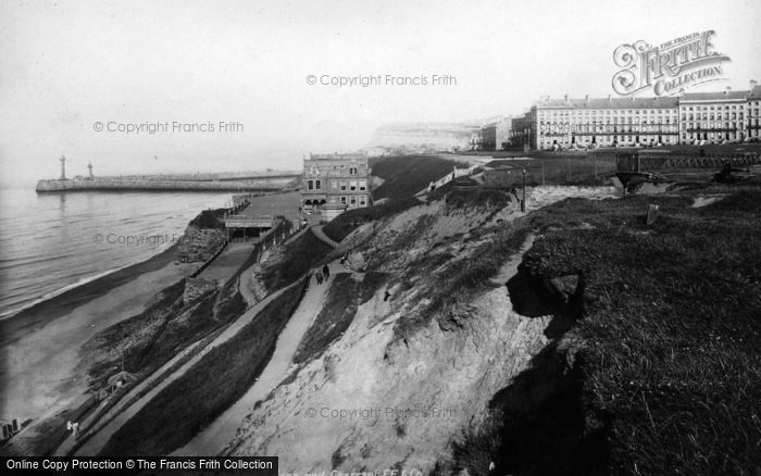 Photo of Whitby, Saloon And Crescent 1897