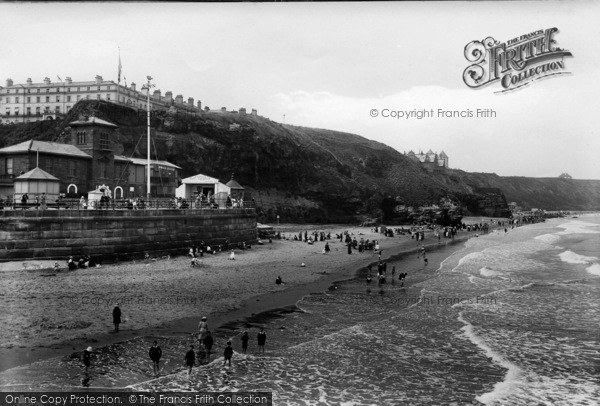 Photo of Whitby, Sands 1913