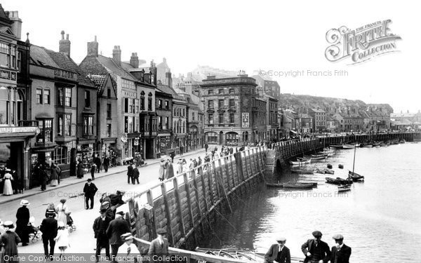 Photo of Whitby, St Ann's Staith 1913