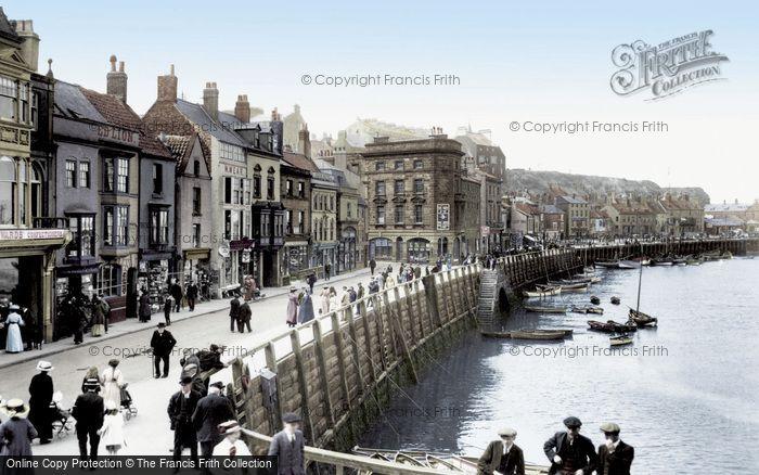 Photo of Whitby, St Ann's Staith 1913