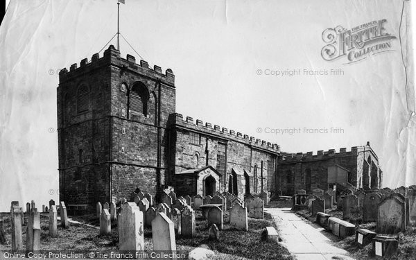 Photo of Whitby, St Mary's Church c.1881