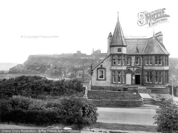 Photo of Whitby, Streonshalh Hotel 1925