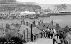 Whitby, The 199 Steps c.1960