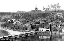 Whitby, The 199 Steps To The Church c.1950