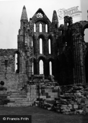 Whitby, The Abbey 1953