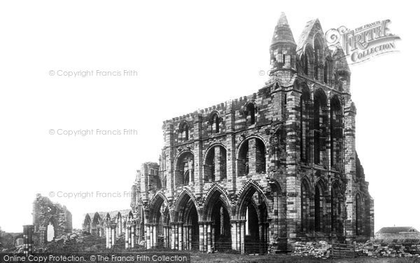 Photo of Whitby, The Abbey c.1885