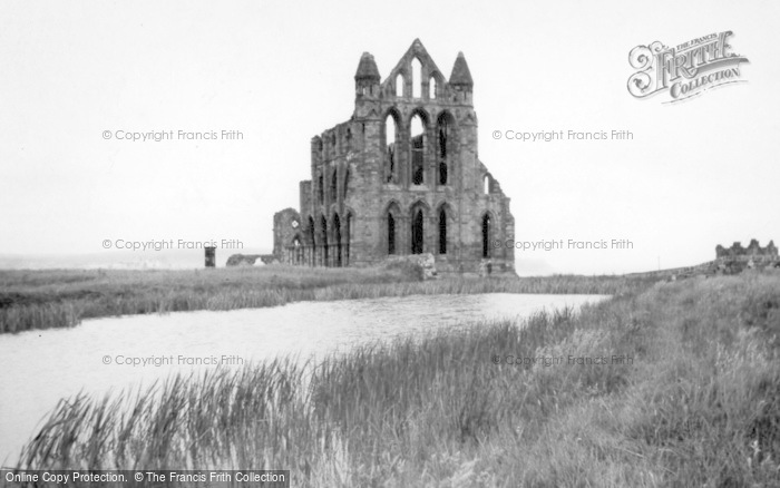Photo of Whitby, The Abbey c.1935