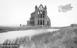 Whitby, The Abbey c.1935