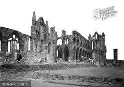 Whitby, The Abbey c.1950
