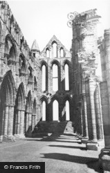Whitby, The Abbey c.1955