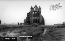 Whitby, The Abbey c.1960
