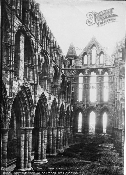 Photo of Whitby, The Abbey, Choir c.1885