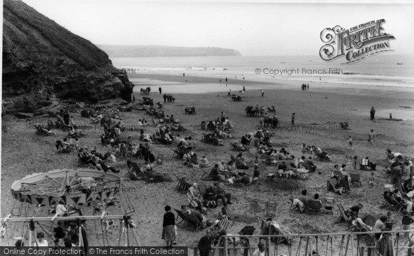 Photo of Whitby, The Beach c.1960