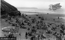 Whitby, The Beach c.1960