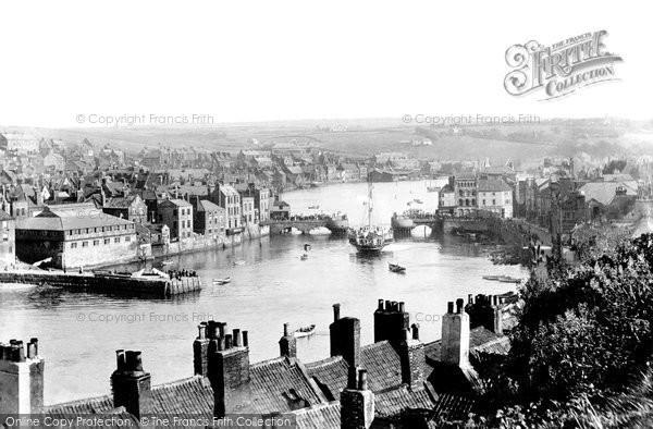 Photo of Whitby, The Bridge 1901