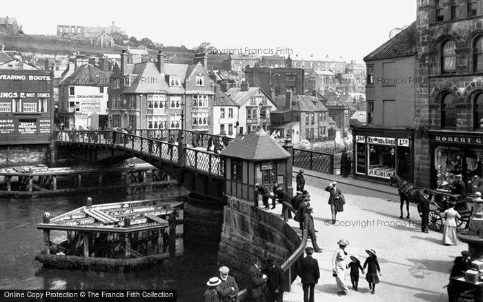 Photo of Whitby, The Bridge 1913