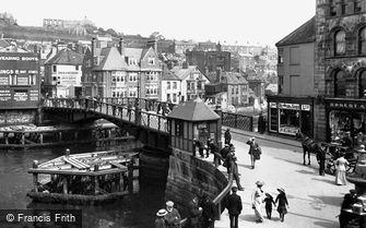 Whitby, the Bridge 1913
