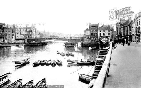Photo of Whitby, The Bridge 1923