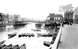 Whitby, The Bridge 1923