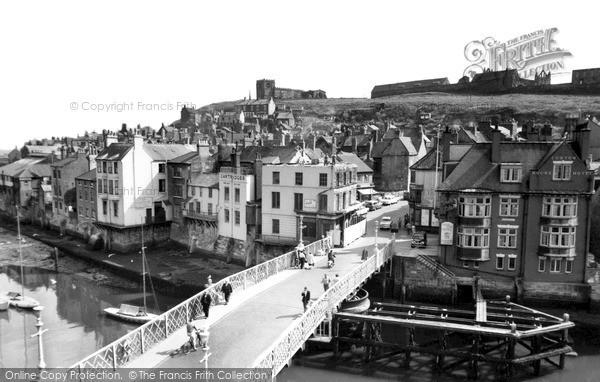 Photo of Whitby, The Bridge c.1960