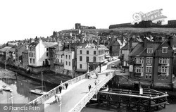 Whitby, The Bridge c.1960