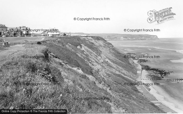 Photo of Whitby, The Cliffs c.1955