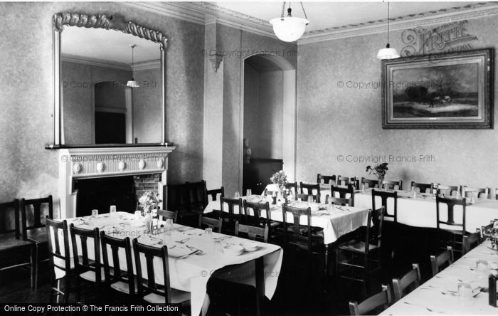 Photo of Whitby, The Dining Room, St Hilda C.E.Holiday Home c.1955