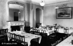 Whitby, The Dining Room, St Hilda C.E.Holiday Home c.1955