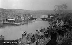 Whitby, The Esk River c.1950