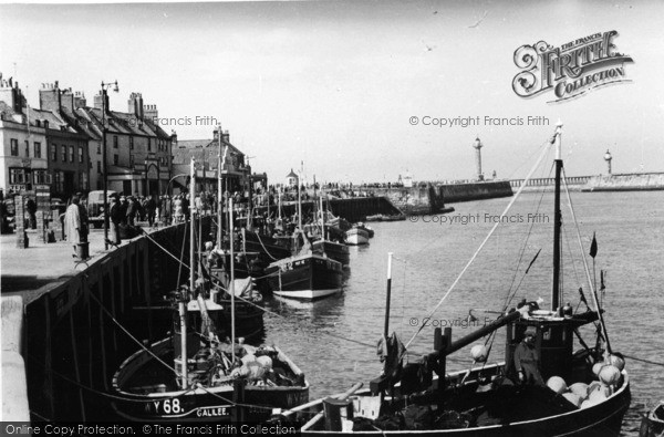 Photo of Whitby, The Fishing Boats c.1935