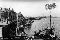 Whitby, The Fishing Boats c.1935