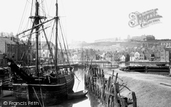 Whitby, The Harbour 1885