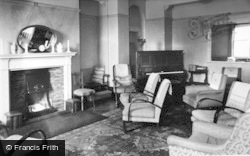 Whitby, The Lounge, St Hilda C.E.Holiday Home c.1955