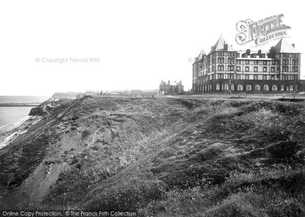Photo of Whitby, The Metropole Hotel And Cliffs 1923