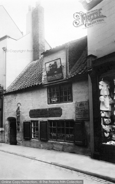 Photo of Whitby, The Old Ship Launch Inn 1930