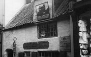 Whitby, the Old Ship Launch Inn 1930