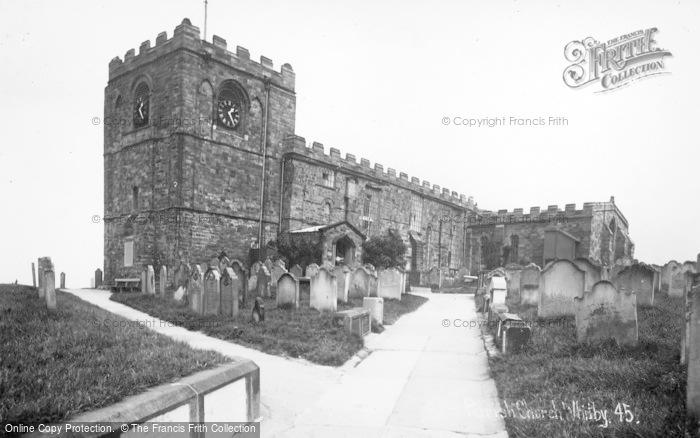 Photo of Whitby, The Parish Church 1930