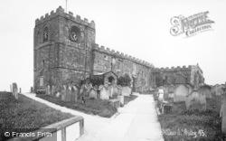 Whitby, The Parish Church 1930