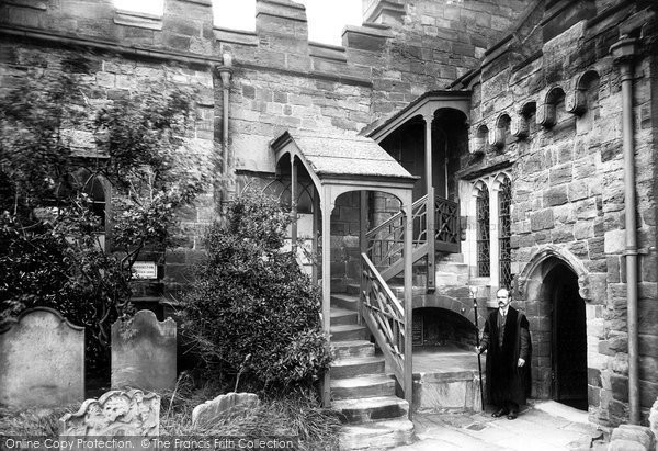 Photo of Whitby, The Parish Church, Gallery Entrance 1913