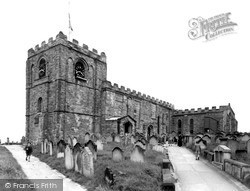Whitby, The Parish Church Of St Mary c.1950